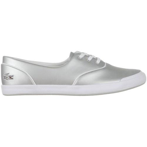 Shoes Women Low top trainers Lacoste Lancelle 3 Eye Silver