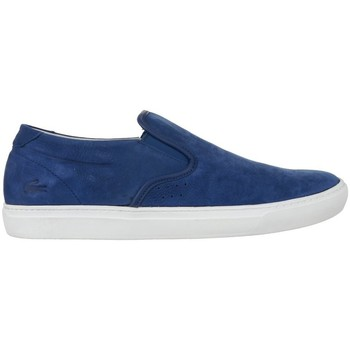 Shoes Men Slip-ons Lacoste Alliot Slipon Blue