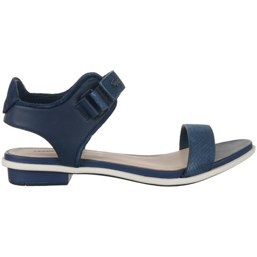 Shoes Women Sandals Lacoste Lonelle Navy blue