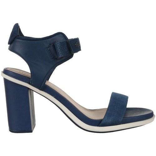 Shoes Women Sandals Lacoste Lonelle Heel Sandal Navy blue