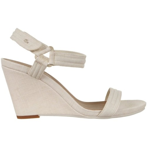 Shoes Women Sandals Lacoste Karoly 3 Beige