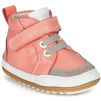 Shoes Girl Mid boots Robeez MIGOLO Pink