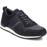 Shoes Men Low top trainers Tommy Hilfiger Maxwell 11C1 Black