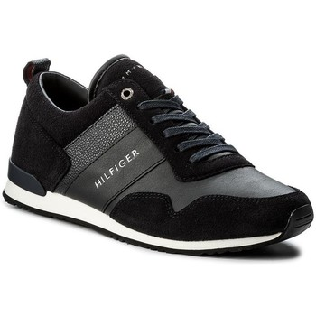 Shoes Men Low top trainers Tommy Hilfiger Maxwell Black