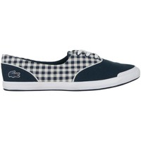 Shoes Women Low top trainers Lacoste Lancelle Lace 3 Eye 216 1 Spw White, Navy blue