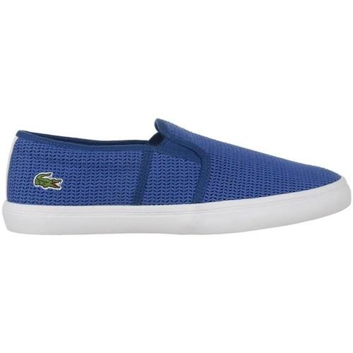 Shoes Women Slip-ons Lacoste Gazon 217 2 Caw Blue