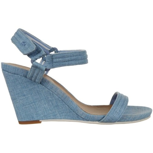 Shoes Women Sandals Lacoste Karoly 3 Blue