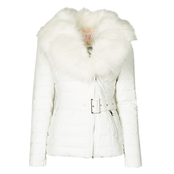 Clothing Women Duffel coats Moony Mood NOUMILLON White