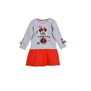 Clothing Girl Short Dresses TEAM HEROES  DRESS MINNIE Multicolour
