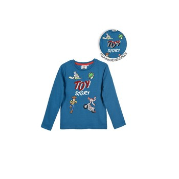 Clothing Boy Long sleeved tee-shirts TEAM HEROES  TOY STORY Blue