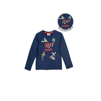 Clothing Boy Long sleeved tee-shirts TEAM HEROES  TOY STORY Marine