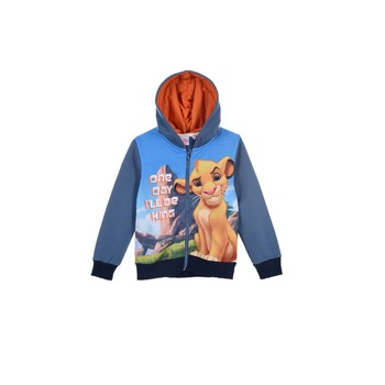 Clothing Boy Sweaters TEAM HEROES  LION KING SWEAT Multicolour