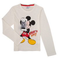 Clothing Boy Long sleeved tee-shirts TEAM HEROES MICKEY White