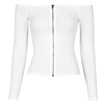 Clothing Women Tops / Blouses Moony Mood NOAM White