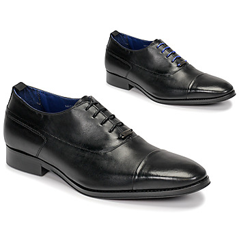Shoes Men Brogues Azzaro LITCHI Black