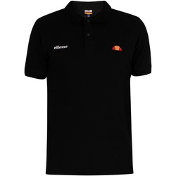 Clothing Men T-shirts & Polo shirts Ellesse Montura Polo Shirt black