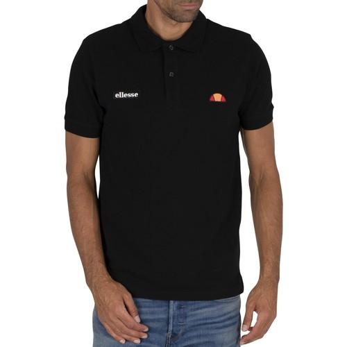 Clothing Men T-shirts & Polo shirts Ellesse Montura Polo Shirt black
