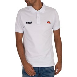 Clothing Men T-shirts & Polo shirts Ellesse Montura Polo Shirt white