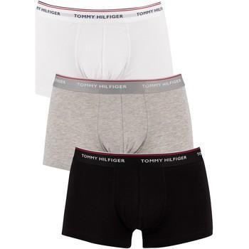 Underwear Men Boxer shorts Tommy Hilfiger 3 Pack Premium Essentials Low Rise Trunks multicoloured