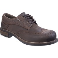 Shoes Men Derby Shoes Cotswold 2142WP Oxford Brown