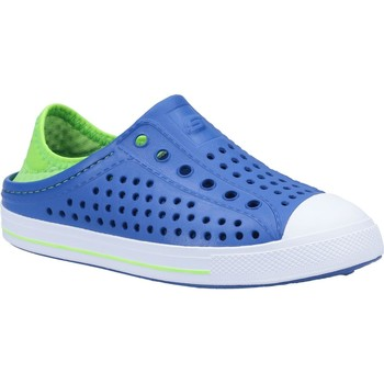 Shoes Boy Water shoes Skechers 91995LBLLM27 Guzman Steps Aqua Surge Blue and Lime