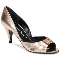 Shoes Women Heels Karine Arabian MONTEREY Leezard or rose