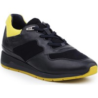 Shoes Men Low top trainers Geox D Shahira A D44N1A-085NY-CF43S navy , yellow