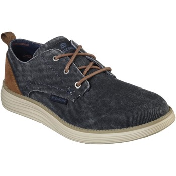 Shoes Men Derby Shoes Skechers SK65910-NVY-6 Status 2.0 - Pexton Navy