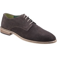 Shoes Men Derby Shoes Lambretta 8748 Scotts Dark Brown Suede