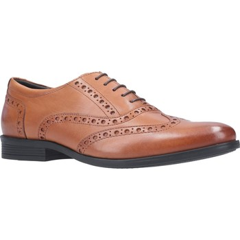 Shoes Men Brogues Hush puppies HPM2000-76-2-6 Oaken Brogue Dark Brown