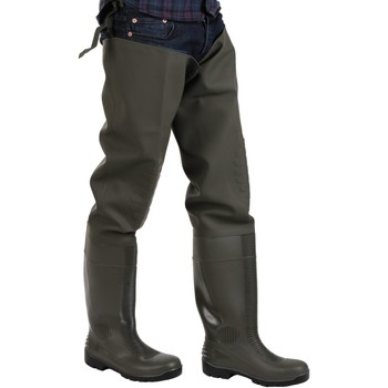 Shoes Men Wellington boots Amblers Safety Forth Thigh Safety Wader Green