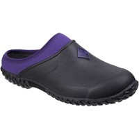 Shoes Women Wellington boots Muck Boots WMC-500 Muckster II Clog Black and Purple