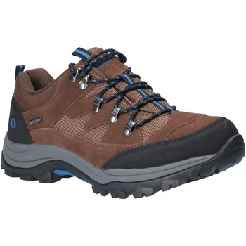Shoes Men Walking shoes Cotswold WLL0028 Oxerton Low Brown and Blue