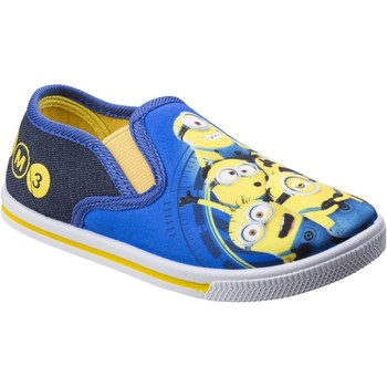 Shoes Boy Slip-ons Minions DE003603 Blue and Yellow