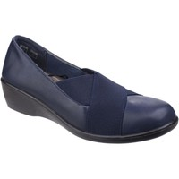 Shoes Women Loafers Fleet & Foster Limba Navy