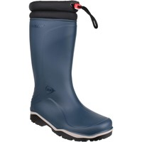 Shoes Women Wellington boots Dunlop K454061 Blizzard Blue and Black