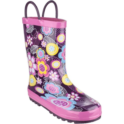 Shoes Girl Wellington boots Cotswold Puddle Flower