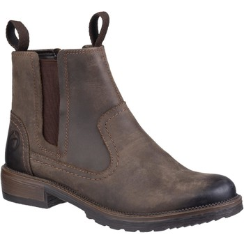 Shoes Women Ankle boots Cotswold Laverton Brown