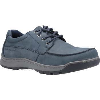 Shoes Men Derby Shoes Hush puppies HPM2000-108-2-6 Tucker Lace Navy Nubuck