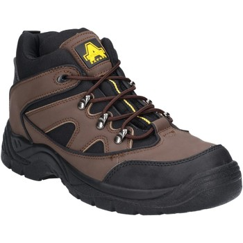 Shoes Men Walking shoes Amblers Safety FS152 Brown