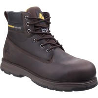 Shoes Men Mid boots Amblers Safety AS170 Westwood Brown