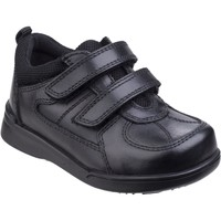Shoes Boy Low top trainers Hush puppies HKL8232-001 Liam Black