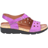 Shoes Women Outdoor sandals Riva Di Mare Trista Leather Purple