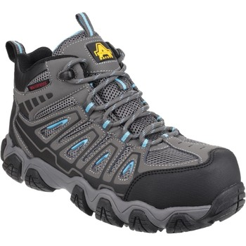 Shoes Women Walking shoes Amblers Safety AS802 Grey