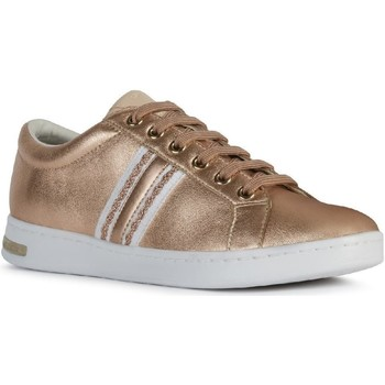 Shoes Women Low top trainers Geox D921BA-0KYBC-CH8A5 D Jaysen A Rose Gold