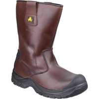 Shoes High boots Amblers Safety AS249 Cadair Brown