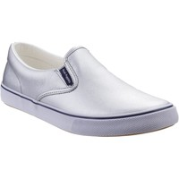 Shoes Women Slip-ons Hush puppies HW06649-040-3 Byanca Silver Metallic Leather