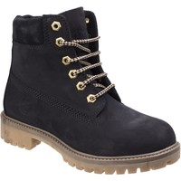 Shoes Women Mid boots Darkwood 7000-01NU Willow Black