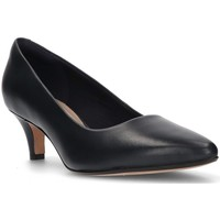 Shoes Women Heels Clarks LINVALE JERICA MATE SHOES NAVY