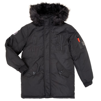 Clothing Boy Parkas Deeluxe SHARKSON Black